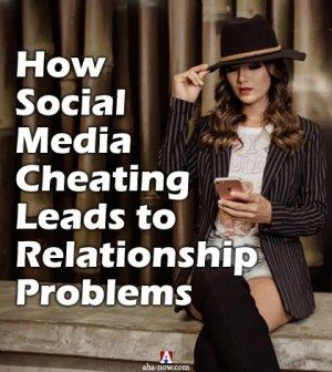 Woman on social media cheating on her spouse