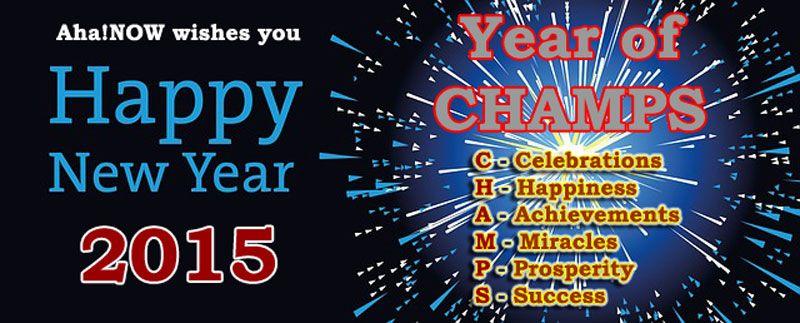 Aha!Now New Year's Card 2015