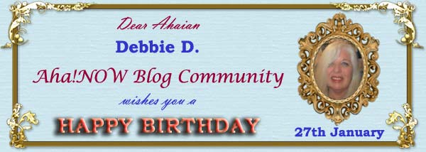 Birthday card for Ahaian Debbie D.