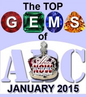 GEMS post poster with gems and crown in the background.