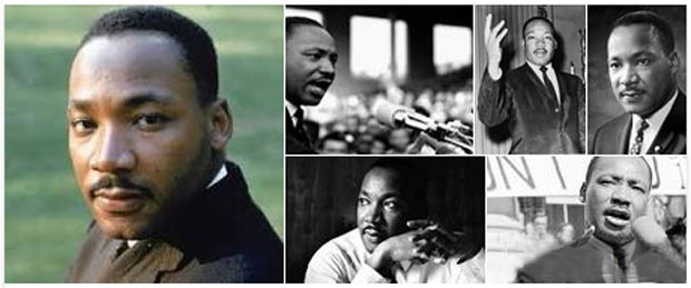 Collage of Martin Luther King Photos