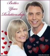 Poster of how to have a better relationship featuring a loving couple