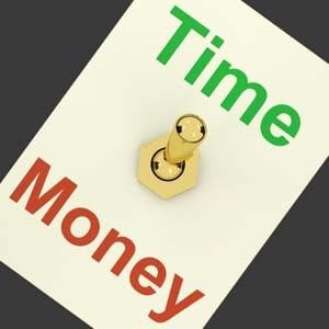 time is money image