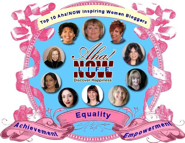Poster image of top 10 inspiring women bloggers of Aha!NOW