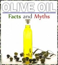 Bottle of Olive oil and nutritional olives