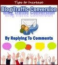 Many hands with comment callouts and comment reply icon to show blog traffic conversion by replying to comments