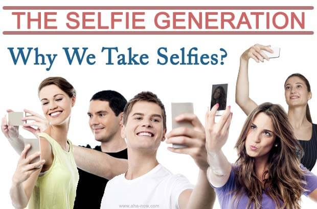 An image with many boys and girls taking selfies with their smartphones