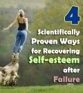 4 scientifically ways for recovering self-esteem