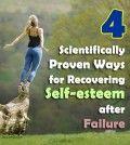 4 scientifically ways for recovering self-esteem