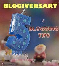 Essential blogging tips on blog anniversary
