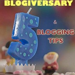 Celebrating The 5th Blogiversary With 5 Blogging Tips