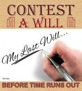 Contest A Will Before Time Runs Out Hand with Pen Image