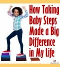 Boy taking baby steps to achieve big results