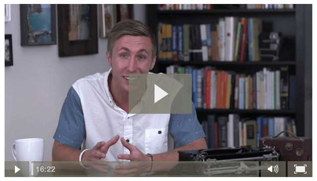 Video for first-time authors by Chandler Bolt