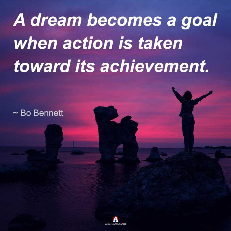 The dream of writing and publishing a book turns true by taking action
