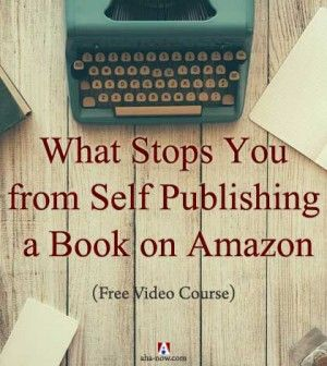 What stops you from self publishing a book on Amazon