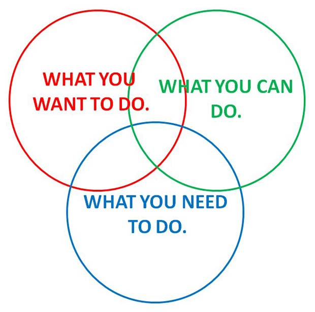 What you do What you can do What you need to do