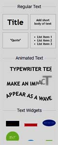 Visme Text Tool