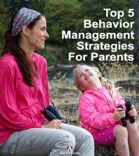 Behavior Management Strategies for Parents