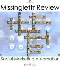 Social marketing automation review of missinglettr