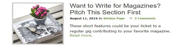 Blog post headline optimization