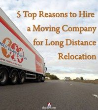 Hiring A Reputable Moving Company for Long Distance Relocation