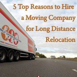 Why Hire Reputable Moving Company for Long Distance Relocation