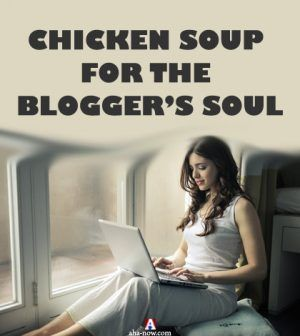 A successful woman blogger sitting with laptop sharing tips of blogging