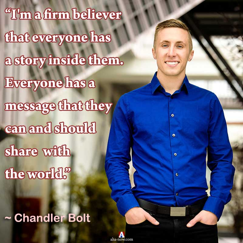 Quote by Chandler Bolt