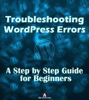Troubleshooting WordPress Errors Poster