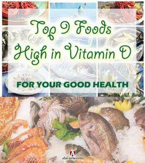Top 9 Foods High in Vitamin D