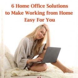 6 Home Office Solutions to Make Working from Home Easy For You