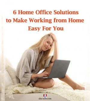 6 home office solutions to make working from home easy for you - Working In Home Office