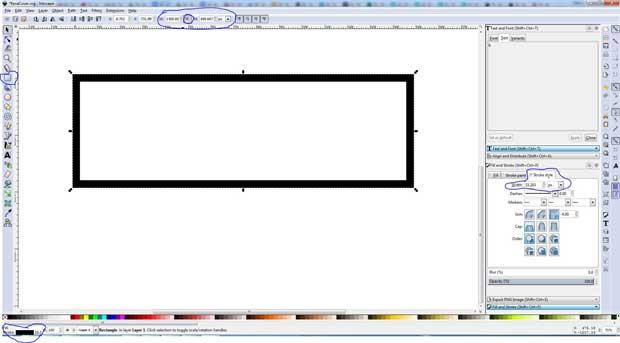 Box border window