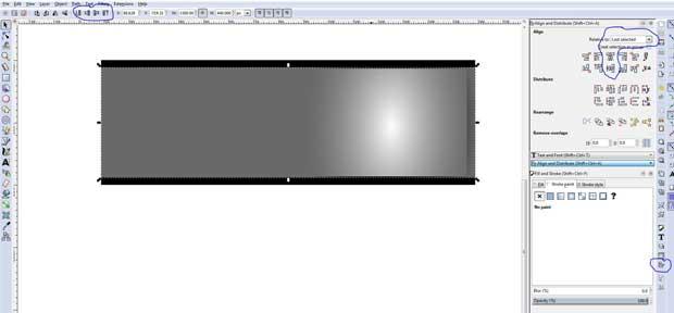 Grey box border