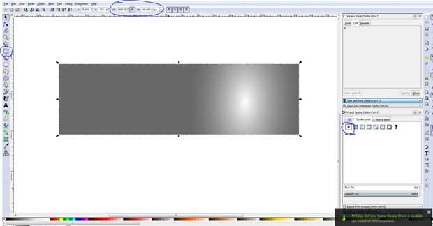 Grey box window