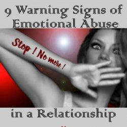 9 Early Warning Signs of an Emotionally Abusive Relationship