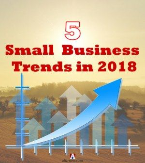 Image showing graph of small business trends in 2018