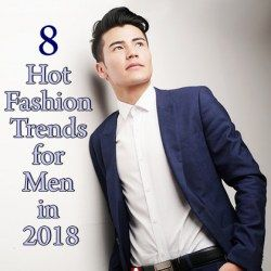Model showing the fashion trends for men