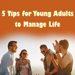 young adults enjoying managing life in adulthood
