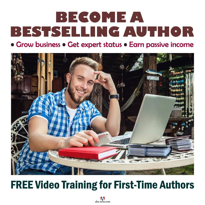Bestseller author by self publishing as a first time author