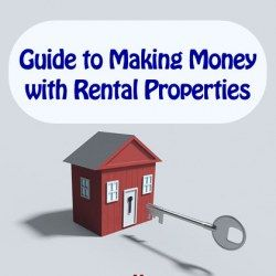 House with a key as guide to making money with rental properties