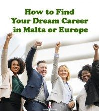 Image of people happy to find a dream career in malta