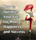 Image showing how to optimize your life for more happiness and success