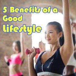 Girls working out for good lifestyle benefits