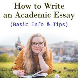 Girl lying on green ground in nature learning how to write an academic essay