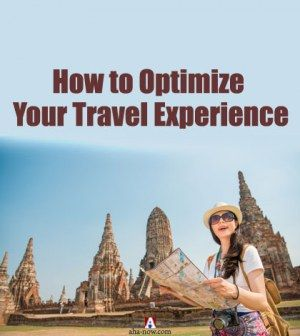 Women as a tourist optimizing her travel experience in Thailand with a travel map in hand