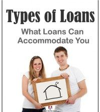 A couple wondering what types of loans can accommodate their house dream