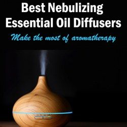 A picture of the best nebulizing essential oil diffuser