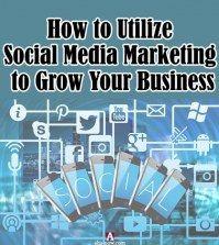 mobiles and social media icons representing social media marketing